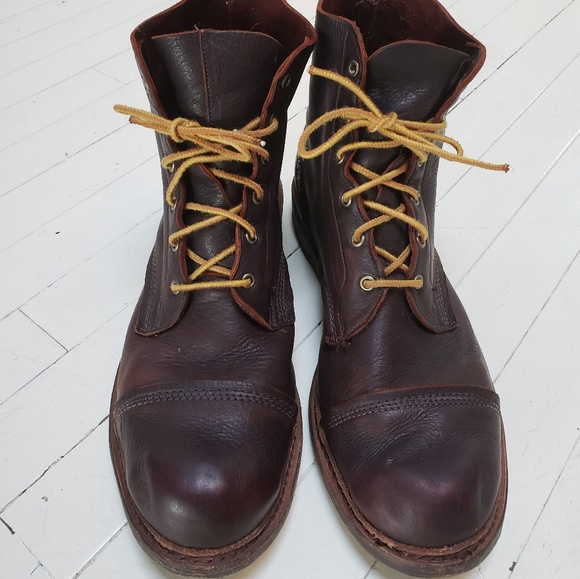 4a526b635 Allen Edmonds Shoes | Sz 12 Normandy Leather Cap Toe Boot | Poshmark